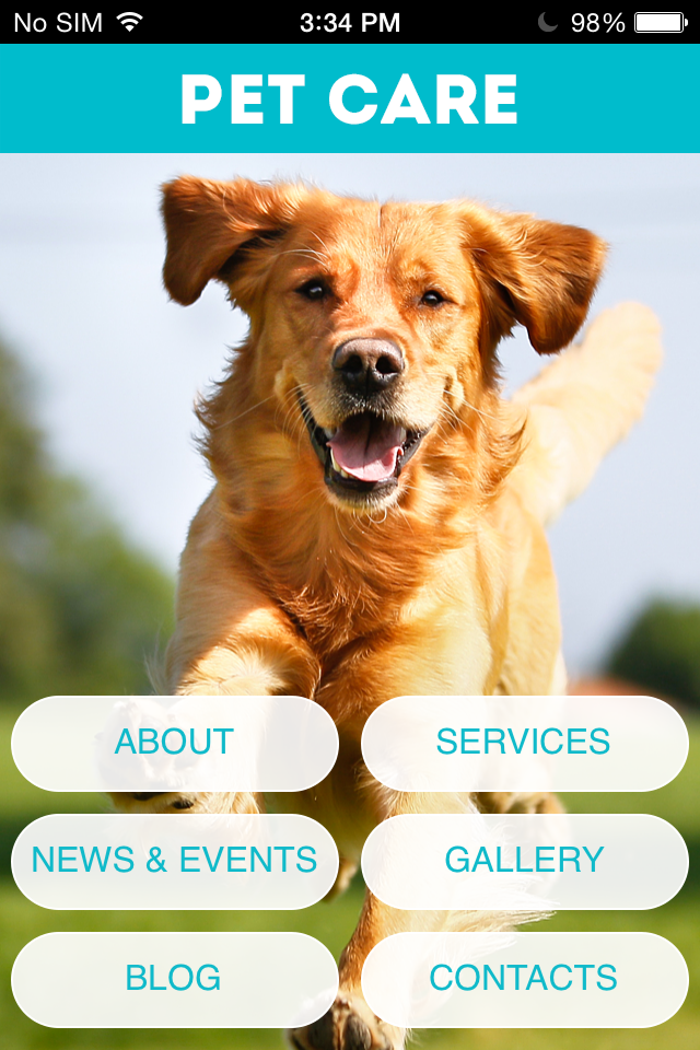 Pet Care App App Templates