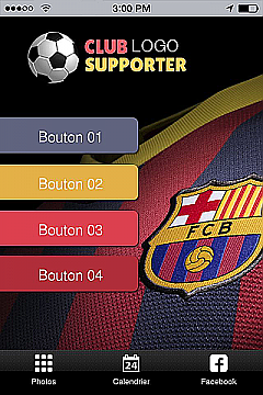 Club supporter App Templates