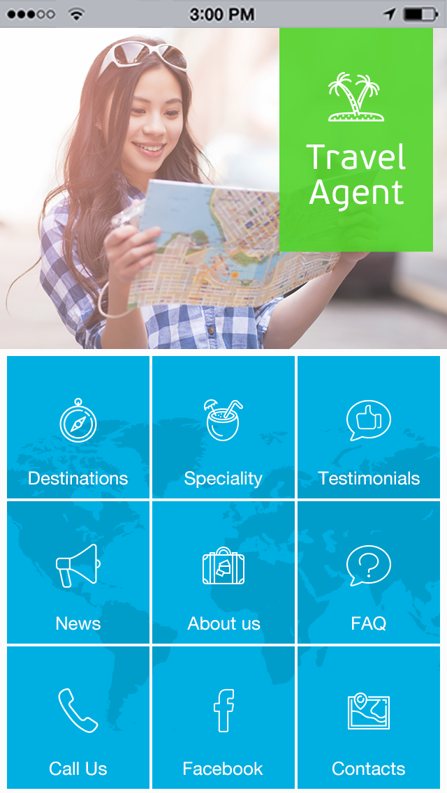 Travel Agent App Templates